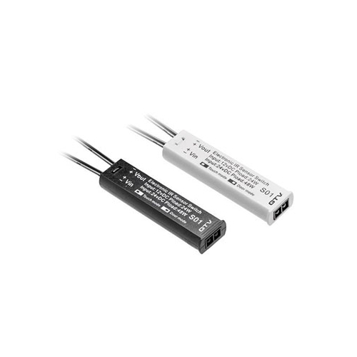 Infravörös ajtónyitás érzékelő (12V-24V) fekete (20305)