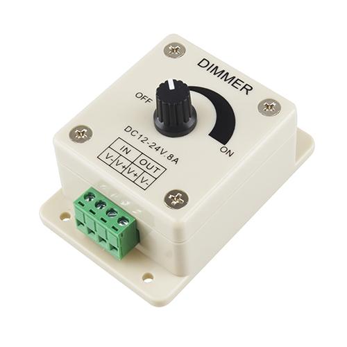 LED szalag potméteres dimmer, fényerőszabályzó, 96 Watt (18972)