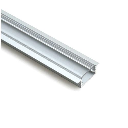 RS - MINI-01-B - Alumínium RS profil (süllyeszthető) LED szalaghoz, átlátszó bura (11666)