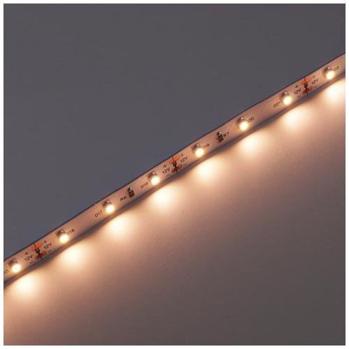 LED szalag beltéri 3528-60 (12 Volt), meleg fehér CRI=90 (3766)