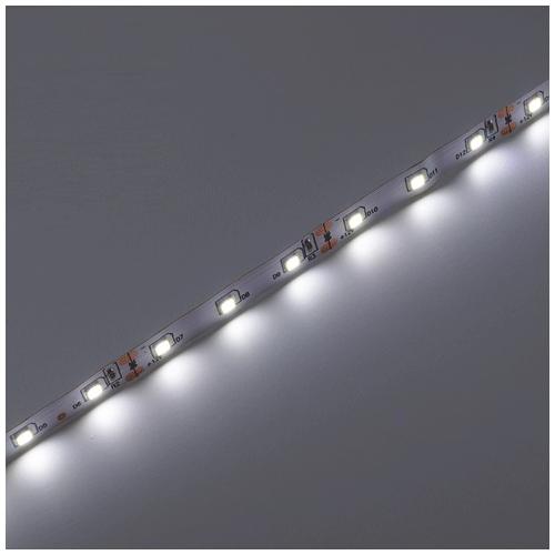 V-TAC LED szalag beltéri 3528-60 (12 Volt), hideg fehér DEKOR (8170)