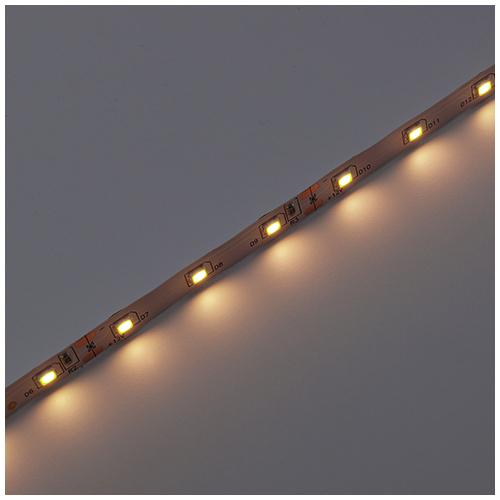 V-TAC LED szalag beltéri 3528-60 (12 Volt), meleg fehér DEKOR (8169)