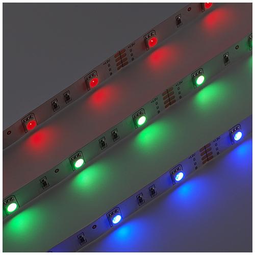 V-TAC LED szalag beltéri 5050-30 (12 Volt), RGB DEKOR (7329)