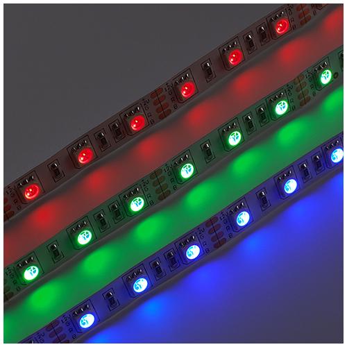 V-TAC LED szalag beltéri 5050-60 (12 Volt), RGB DEKOR (7330)