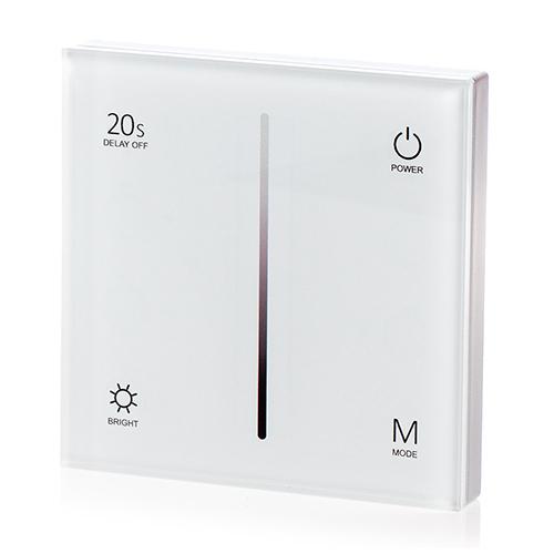 LED SD T1-1W Fali LED fényerőszabályzó, érintésérzékeny, fehér (22591)