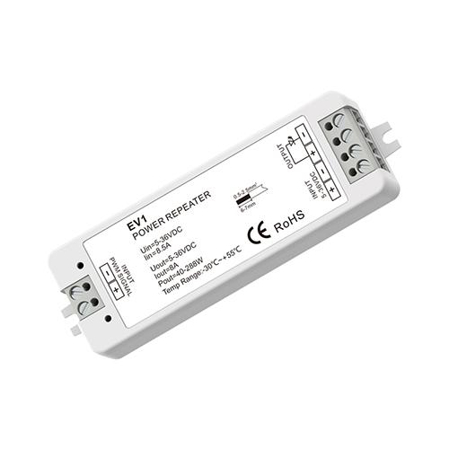 LED SkyDance EV1 jelerősítő vezérlőkhöz, 5-36V, 1 csatonra, 8A/cs. (22893)