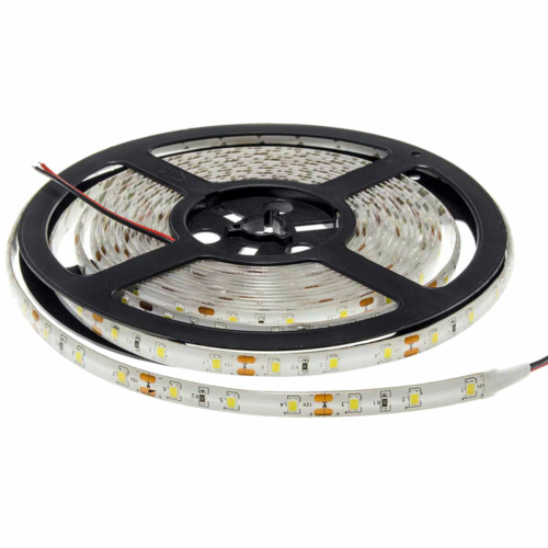 Kék SMD 3528 LED szalag - IP65, 60 LED/m, szilikon, vízálló (ST4736)