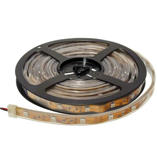 Zöld SMD 5050 LED szalag - IP65, 60 LED/m, szilikon, vízálló (ST4218)