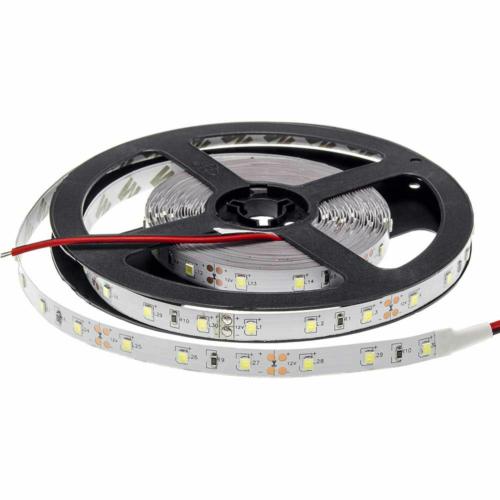 Meleg fehér SMD 3528 LED szalag - IP20, 60 LED/m, Beltéri (ST4703)