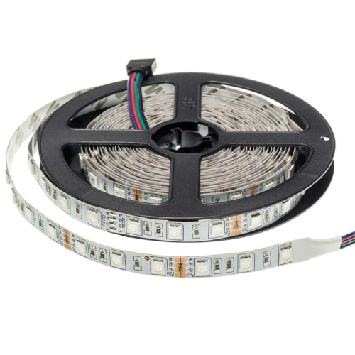 RGB SMD 5050 LED szalag - IP20, 60 LED/m, Beltéri (ST4312)