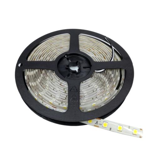 Hideg fehér SMD 5050 LED szalag - IP65, 60 LED/m, Kültéri (ST4839)