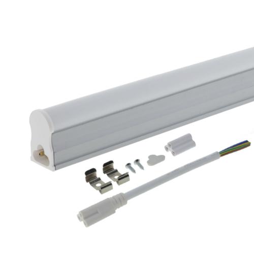 LED fénycső, T5, 31 cm, 4W, 230V, opál - Hideg fehér (TU5653)