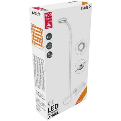 Avide LED Állólámpa Angel 12W NW Fehér