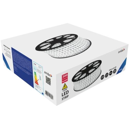 Avide LED Szalag 220V 4.8W 6400K IP67 50m