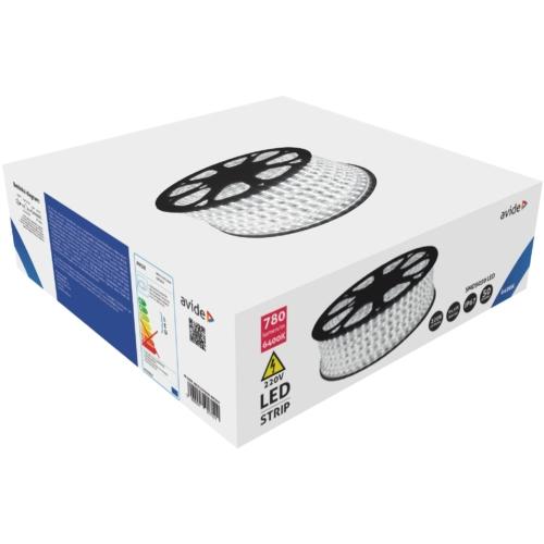 Avide LED Szalag 220V 14.4W 6400K IP67 50m
