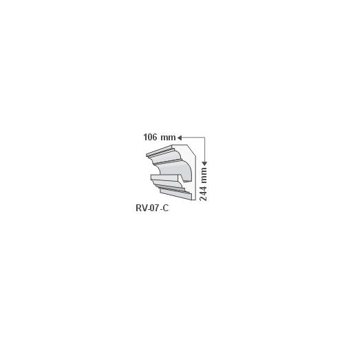 ArtLED RV-07/C Rejtett világítás díszléc - mennyezet
