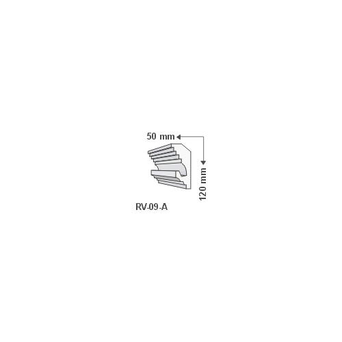 ArtLED RV-09/A Rejtett világítás díszléc - mennyezet
