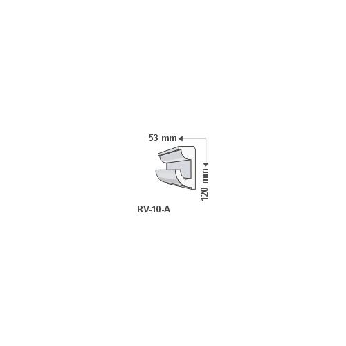 ArtLED RV-10/A Rejtett világítás díszléc - mennyezet