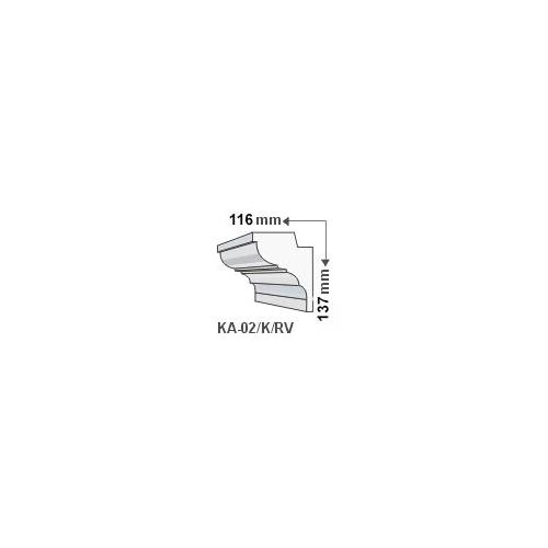 ArtLED KA-02/K Rejtett világítás - oldalfal