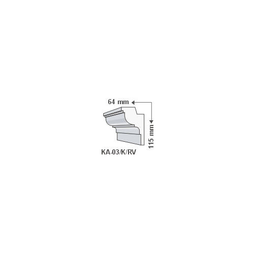 ArtLED KA-03/K Rejtett világítás - oldalfal