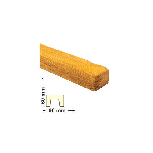 Elite Decor DecoWood Bükk-90 Modern poliuretán gerenda (ED107)