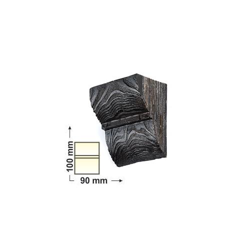 Elite Decor DecoWood Mahagóni-90 Univerzális poliuretán konzol-01 (ED017)