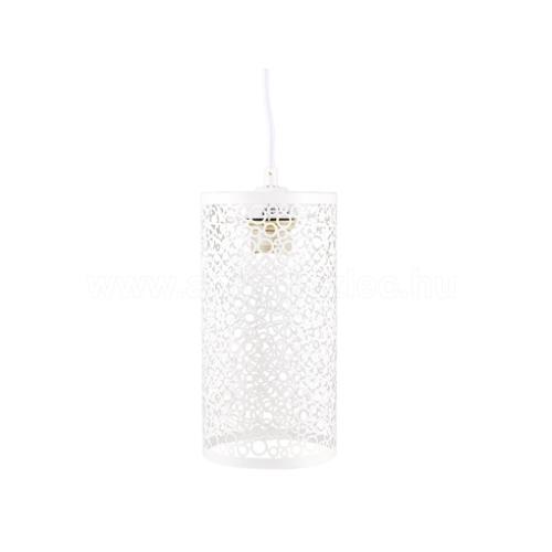V-TAC Sinbad fém függőlámpa (E27) - matt fehér