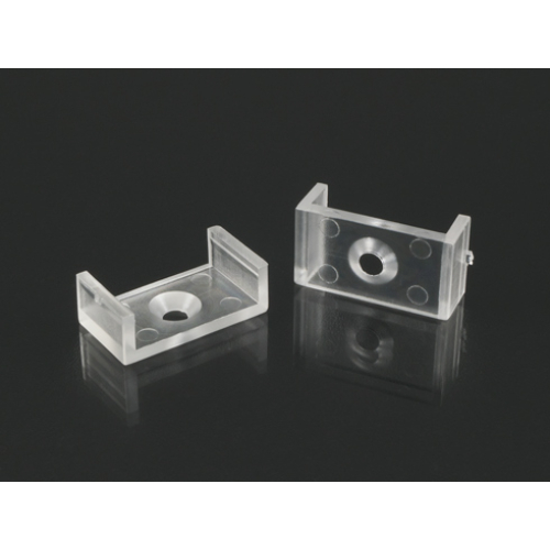 LED Profiles Surface-3 Tartó-, rögzítő elem alumínium LED profilhoz, átlátszó