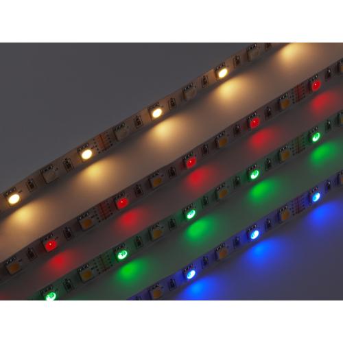 V-TAC 2553 LED szalag beltéri 5050-60 (12 Volt) - RGB+meleg DEKOR