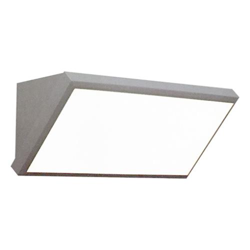 V-TAC Landscape fali lámpa (20W) szürke, meleg fehér IP65