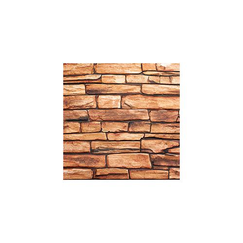 Flexpanel PVC falpanel - Soroskő (barna kőzet) Karelian