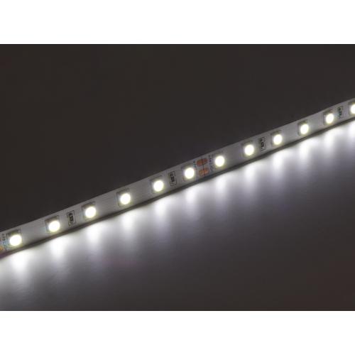V-TAC 2430 LED szalag beltéri 5050-60 (24 Volt) - hideg fehér DEKOR