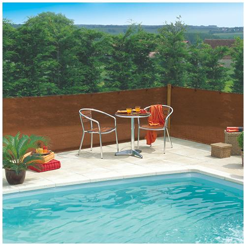 Nortene Szőtt árnyékoló háló 80%-os takarás, EXTRANET (2x10 méter) barna