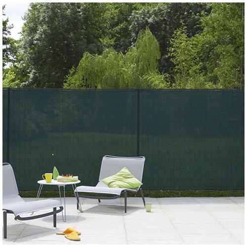 Nortene Szőtt árnyékoló háló 85%, rögzítő hurkokkal TEXANET (2x10 méter) zöld