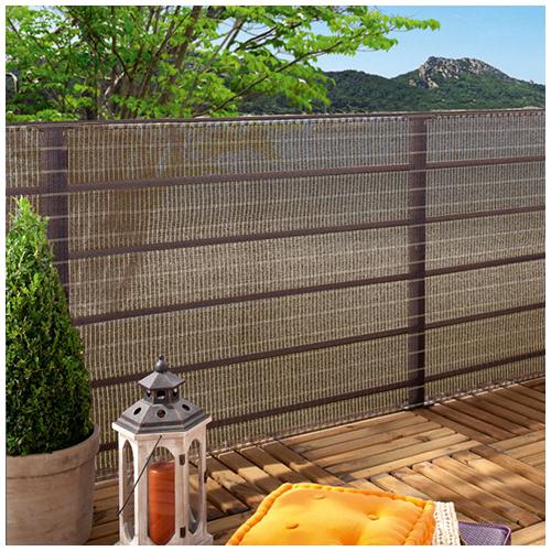 Nortene Szőtt árnyékoló háló 85%, fűzőlyukakkal HAVANA (1.5x5 méter) barna