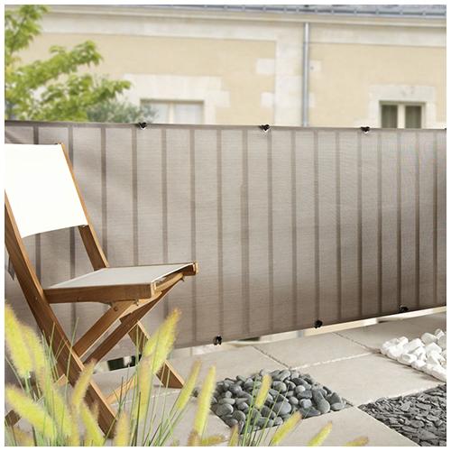 Nortene Belátásgátló fűzőlyukkal 85%, modern árnyékoló háló EVERLY (1 x 5 méter)