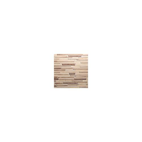 Regul PVC falpanel - Szeletelt kő - Modern fa
