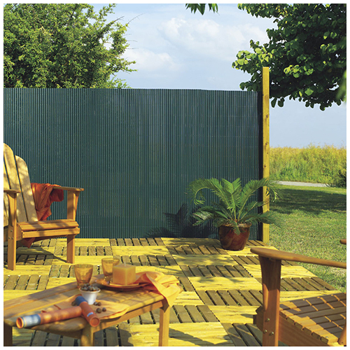Nortene Belátáskorlátozó 85%, műanyag nád PLASTICANE OVAL (1x3 méter) zöld