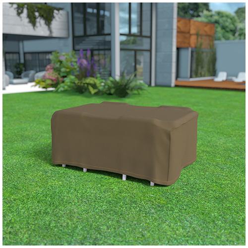 Nortene Covertop kerti bútor takaró huzat (225x145x90cm) négyszögletes asztal + 4 szék