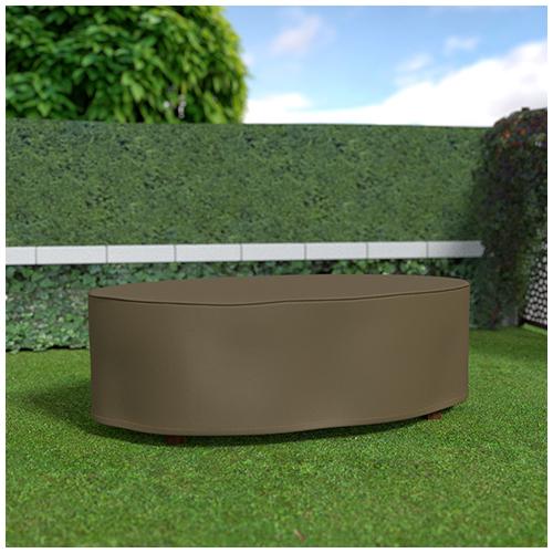 Nortene Covertop kerti bútortakaró (230x130x70cm) ovális asztal
