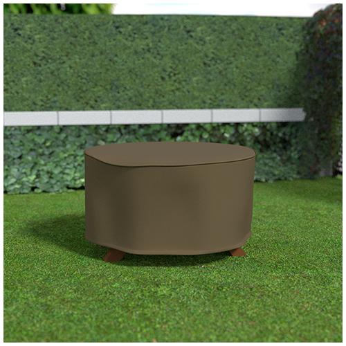 Nortene Covertop kerti bútortakaró (125x125x70cm) kör alakú asztal