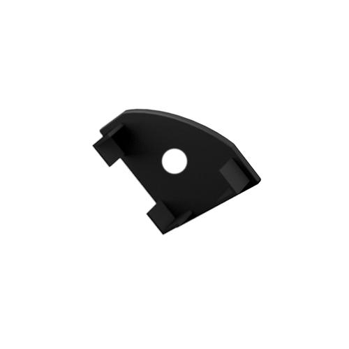 LED Profiles ALP-007 Véglezáró alumínium LED profilhoz, fekete