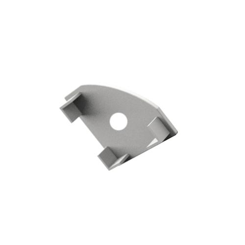 LED Profiles ALP-007 Véglezáró alumínium LED profilhoz, fehér