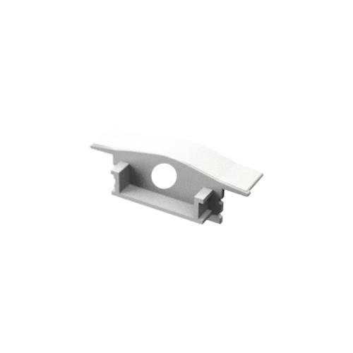 LED Profiles ALP-001 Véglezáró alumínium LED profilhoz - fehér