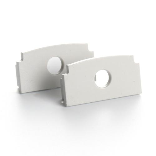 LED Profiles Recessed-5 süllyeszthető alu profil eloxált - végzáró elem