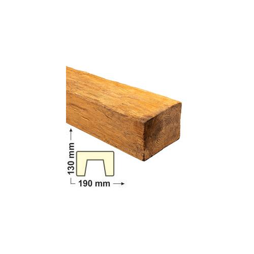 Elite Decor DecoWood Bükk-190 Modern poliuretán gerenda (ED105)