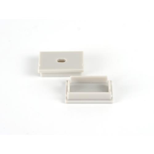 LED Profiles Surface-7 Alumínium U profilhoz végzáró (LP107-END) szürke