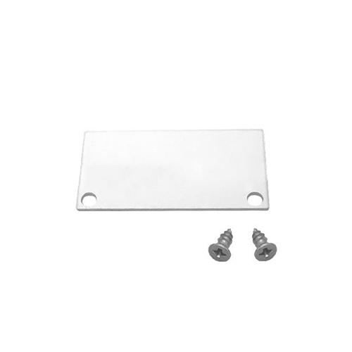 LED Profiles Recessed-8 gipszkartonba süllyeszthető alu profil végzáró (LP308-END) ezüst