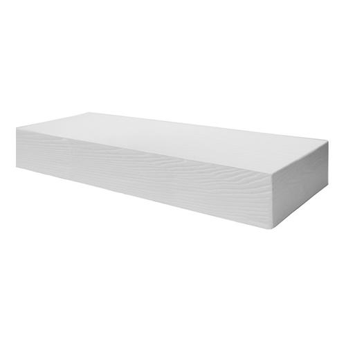 Elite Decor DecoWood Fehér-200 Modern zárt deszkapanel (ED109)
