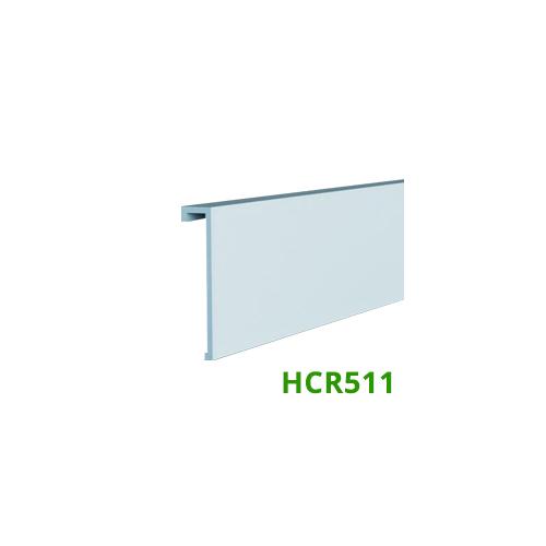 Elite Decor Parkettaszegély léc (HCR511) kőkemény HDPS anyagból, 16mm-es kábelcsatornához!